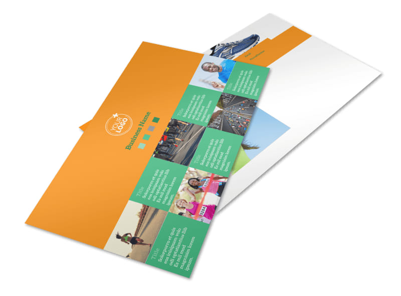 Your Next Running Club Postcard Template Preview 4