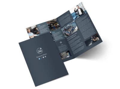 Auto Maintenance Bi-Fold Brochure Template 2