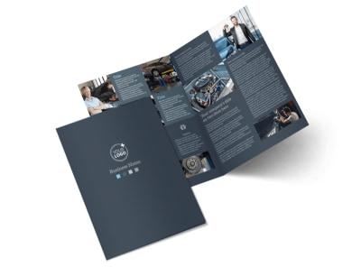 Auto Maintenance Bi-Fold Brochure Template 2