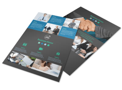Portfolio Management Firm Flyer Template