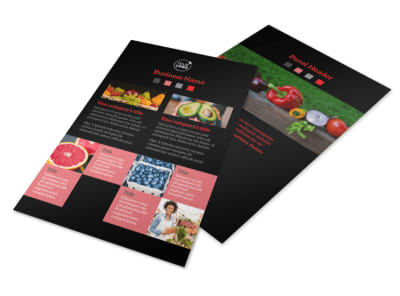 Fresh Produce Market Flyer Template 3 preview