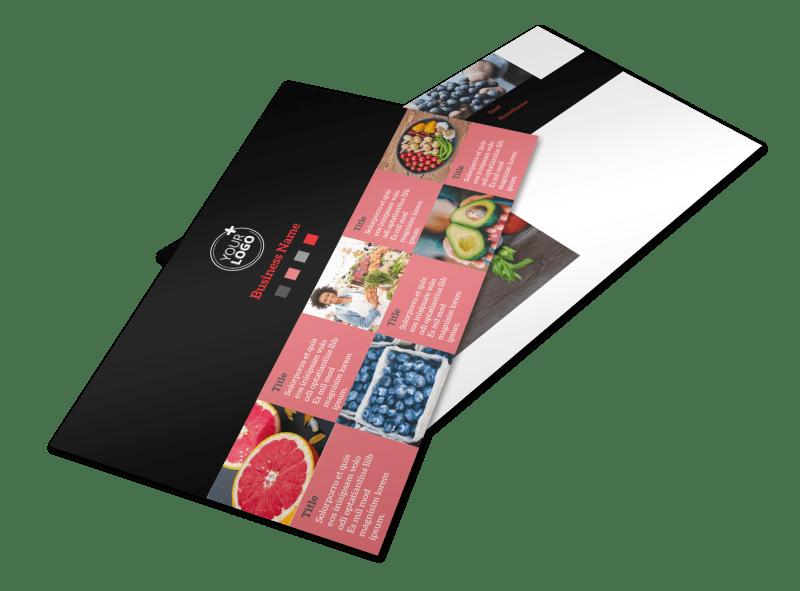 Fresh Produce Market Postcard Template Preview 1
