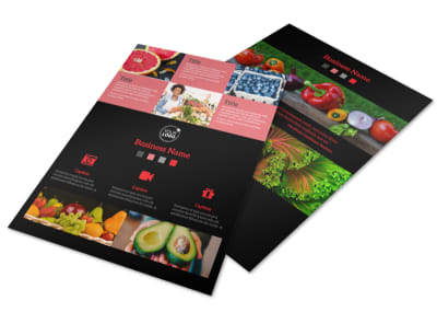 Fresh Produce Market Flyer Template preview