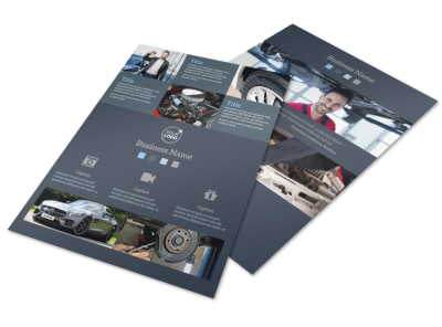 Auto Maintenance Flyer Template