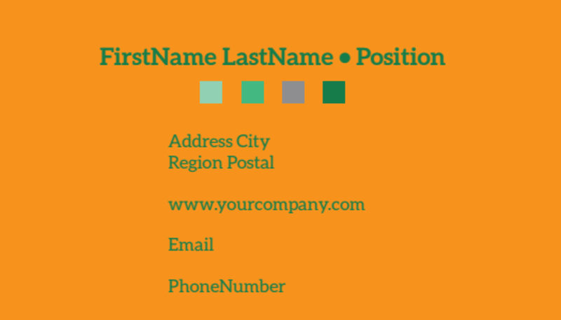 Your Next Running Club Business Card Template Preview 3