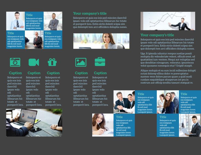 Portfolio Management Firm Brochure Template Preview 3