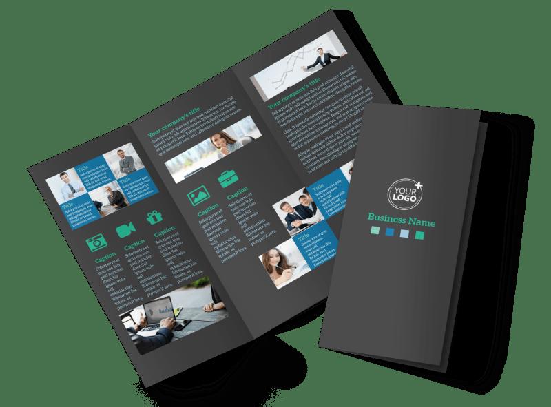 Portfolio Management Firm Brochure Template Preview 1