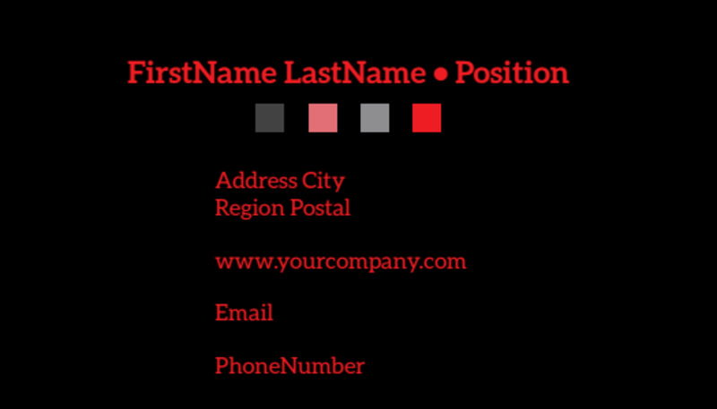 Fresh Produce Market Business Card Template Preview 3