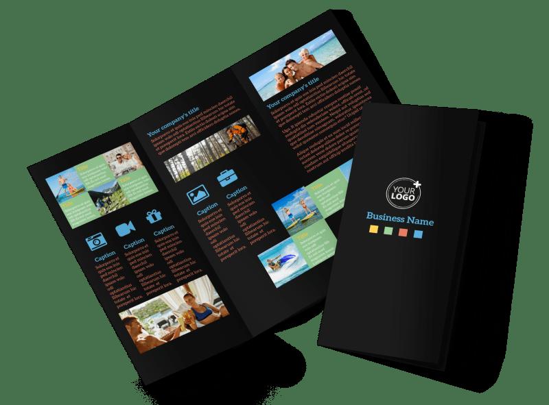travel adventure activities brochure template