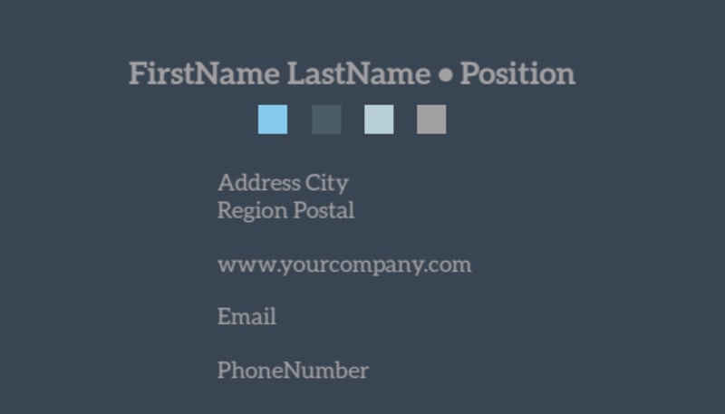 Auto Maintenance Business Card Template Preview 3