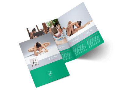 Pilates Class Bi-Fold Brochure Template 2