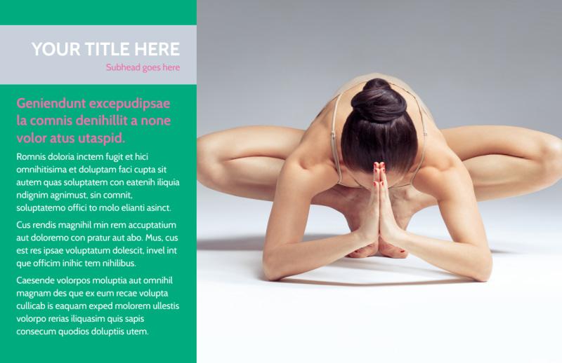 Pilates Class Postcard Template Preview 2