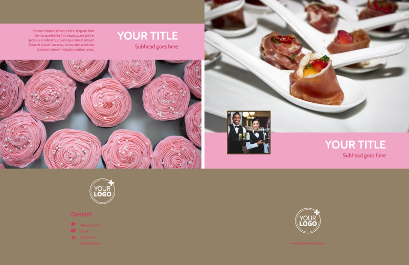 Event Catering Brochure Template Preview 2