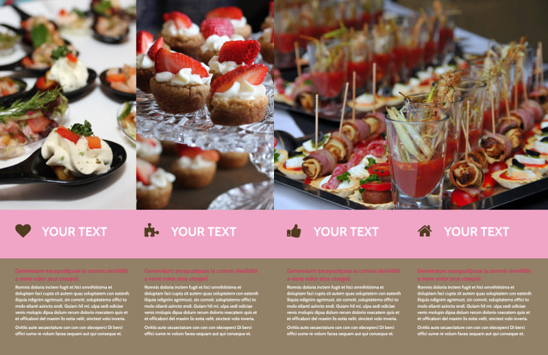 Event Catering Brochure Template Preview 3