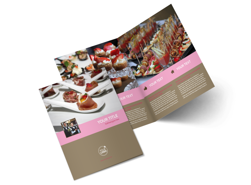 Event Catering Brochure Template Preview 1