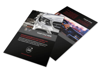 Professional Car Washing Flyer Template 3 preview