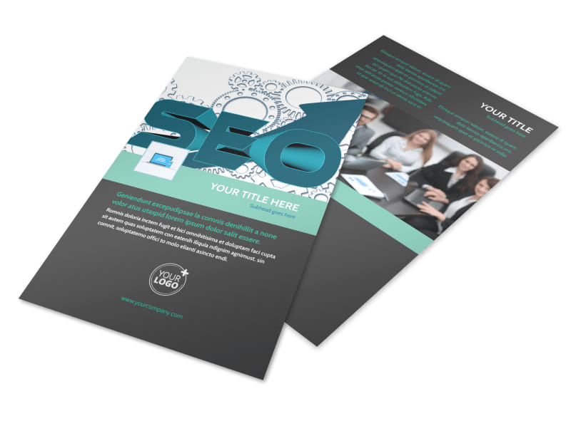 SEO Services Flyer Template 3