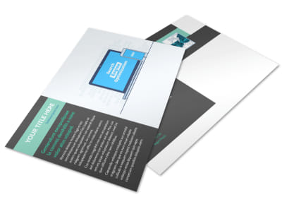 SEO Services Postcard Template preview