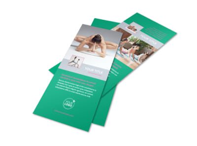 Pilates Class Flyer Template 2