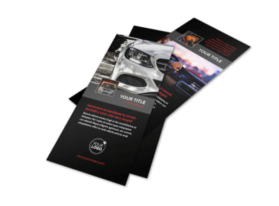 Professional Car Washing Flyer Template 2