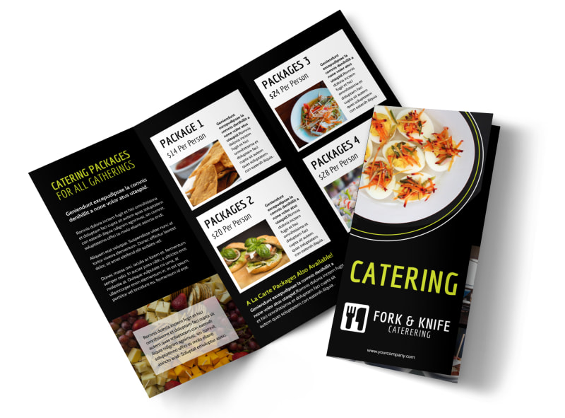 Event Catering Brochure Template – Event Brochure Template
