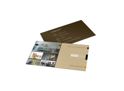 Painter & Painting Contractor Business Card Template preview