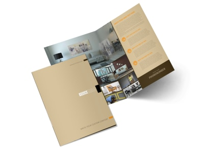 Painter & Painting Contractor Bi-Fold Brochure Template 2 preview