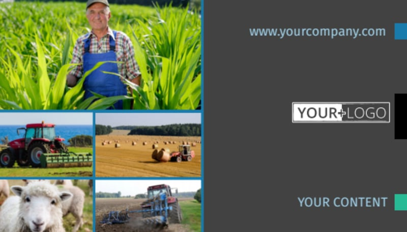 Farm Management Business Card Template Preview 2