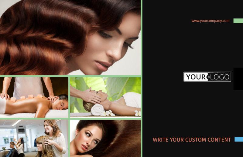 Hair Salon & Spa Postcard Template Preview 2