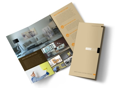 Painter & Painting Contractor Brochure Template preview