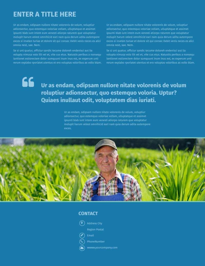 Farm Management Flyer Template Preview 3