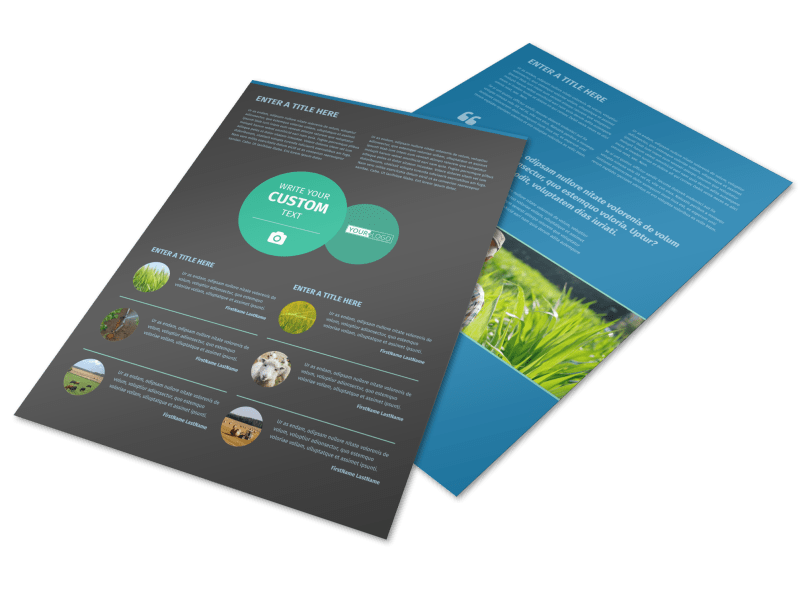 Farm Management Flyer Template Preview 1