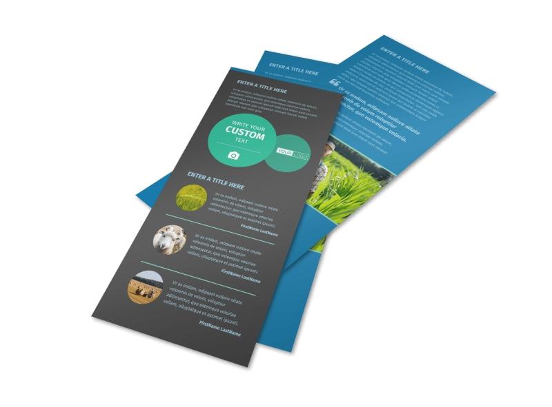 Farm Management Flyer Template 2