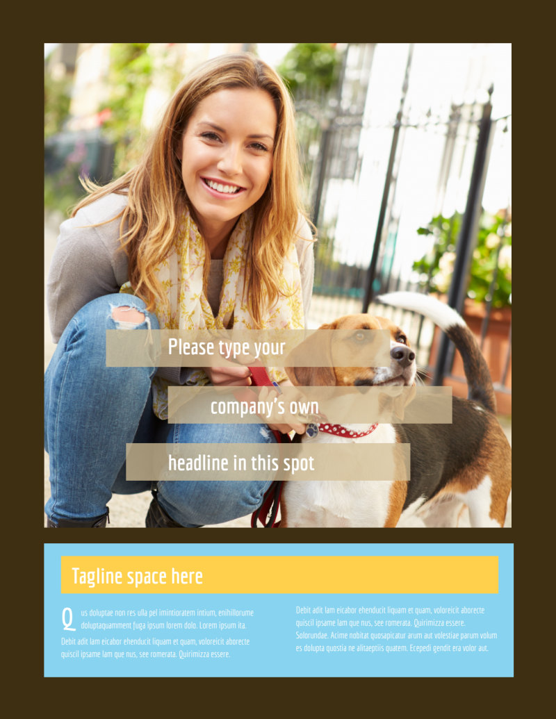 Pet Store Flyer Template Preview 2
