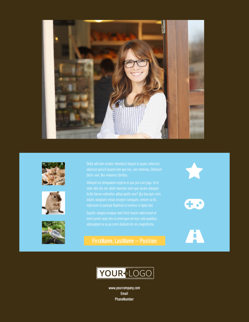 Pet Store Flyer Template Preview 3