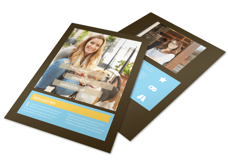 Pet Store Flyer Template Preview 1