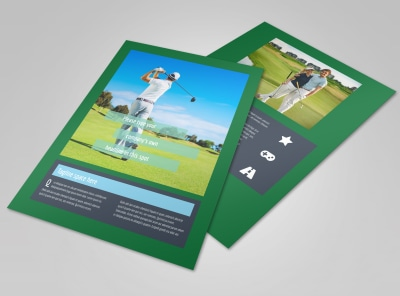 Local Golf Tournament Flyer Template
