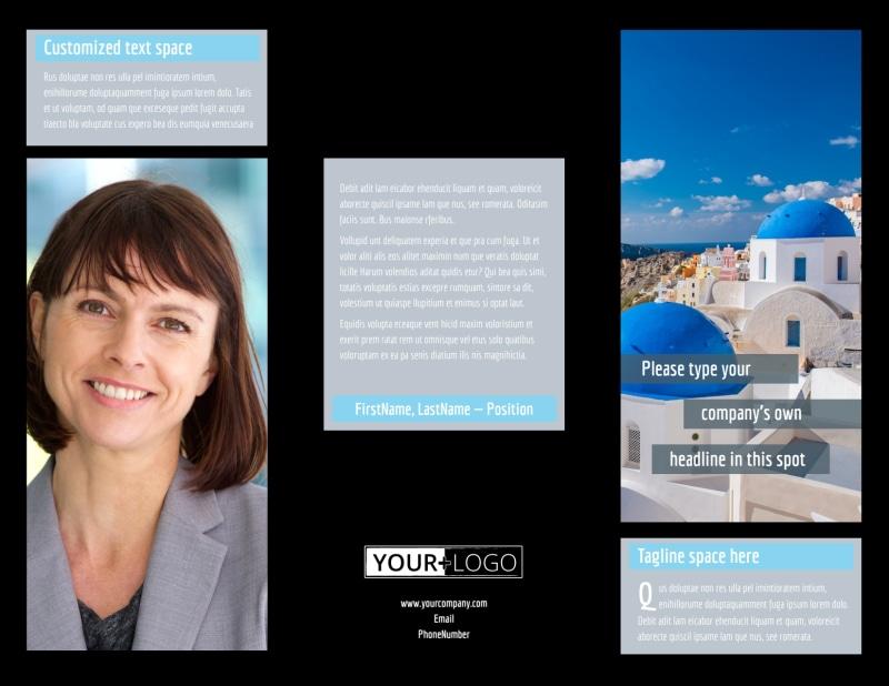 Fabulous Villa Rentals Brochure Template Preview 2