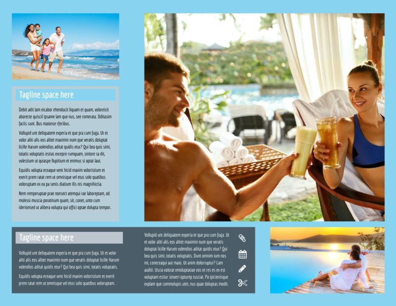 Fabulous Villa Rentals Brochure Template Preview 3