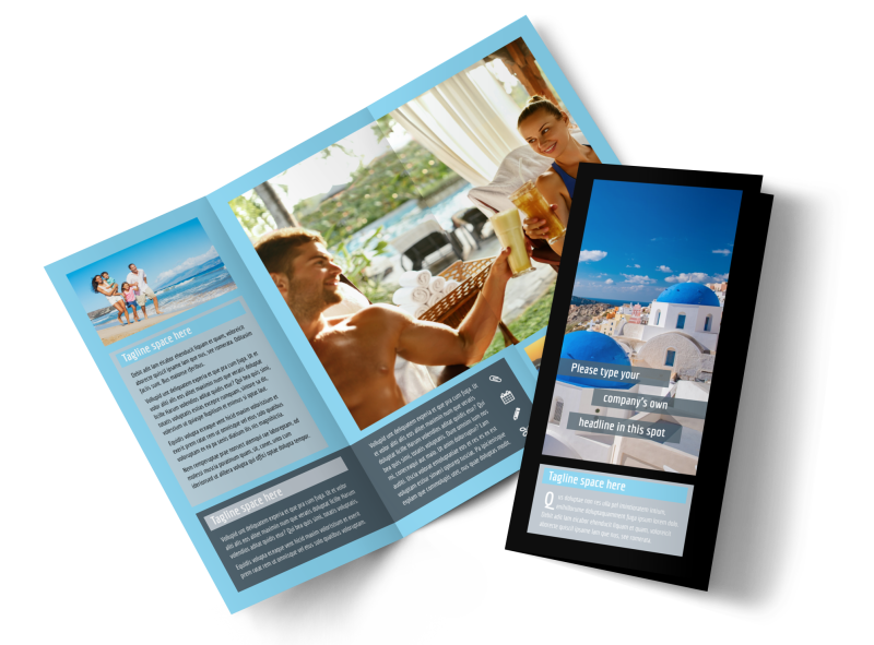 Fabulous Villa Rentals Brochure Template Preview 1