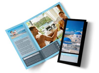 Fabulous Villa Rentals Tri-Fold Brochure Template