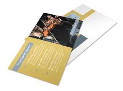 Arts Council & Education Postcard Template 2