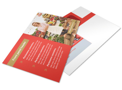 Local Farmers Market Postcard Template 2