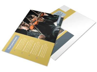 Arts Council & Education Postcard Template