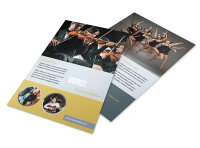 Arts Council & Education Flyer Template 3