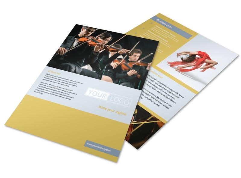 Arts Council & Education Flyer Template