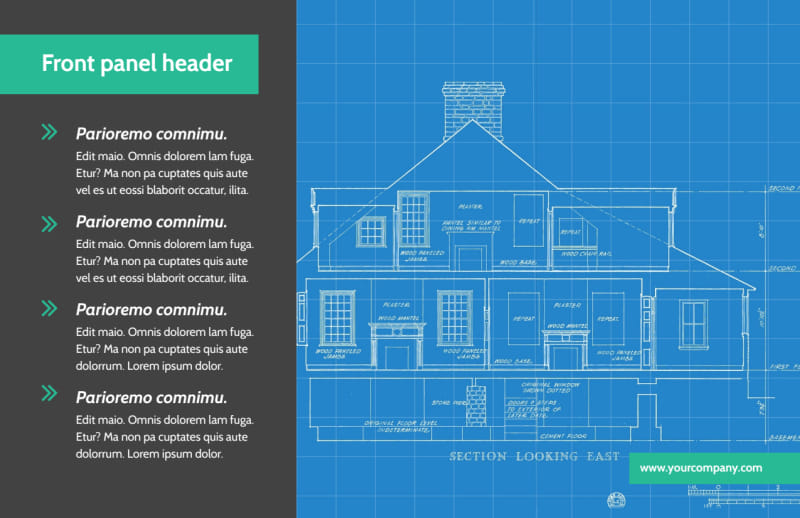 Home Building Contractor Postcard Template Preview 2