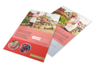 Local Farmers Market Flyer Template 3