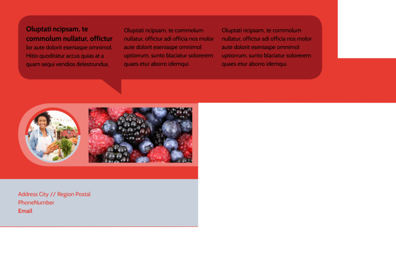 Local Farmers Market Postcard Template Preview 3