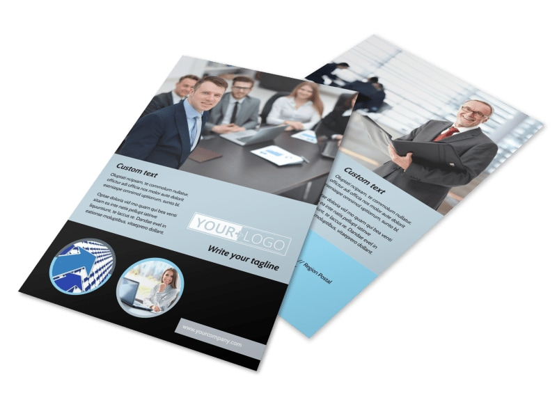 Portfolio Management Flyer Template 3